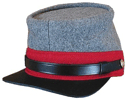 M1861 Confederate Enlisted Kepi for Artillery