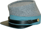 M1861 Confederate Enlisted Kepi for Infantry