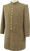 C.S. Enlisted / NCO Brown Wooljean Frockcoat
