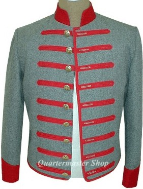 17th Mississippi Infantry Shelljacket, front
