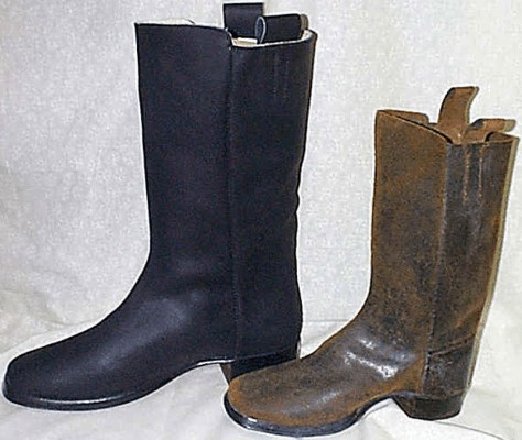 19th Century 1800s Boots And Shoes