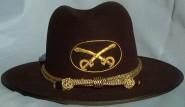 U.S. Officers Slouch Hat, American Civil War Men's Hat