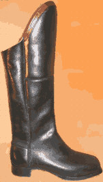 Officer's Tall Boots (Civil War) - Black, by Robert Land