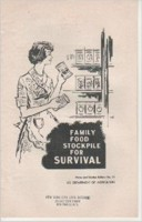 Family Food Stockpile For Survival