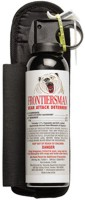 Sabre Frontiersman Bear Spray and Attack Deterrent 7.9 oz with Holster