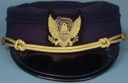 U.S. M1895 Dress Cap for Officers - Spanish American War, 19th Century (1800s) Men's Hat