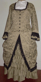 1880s Day / Evening Polonaise and Walking Skirt, 19th Century (1800s) Ladies Skirts, Blouses and Dresses
