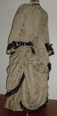 1880s Day / Evening Polonaise and Walking Skirt, 19th Century (1800s) Ladies dresses