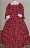 1860s Pagoda Day or Tea Dress #3, 19th Century (1800s) Ladies dresses