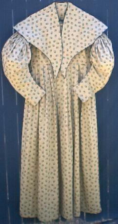 Ladies dresses of the 1830s