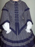 1850s Day or Evening Dress. Simplicity Pattern 9761, 19th Century (1800s) Ladies