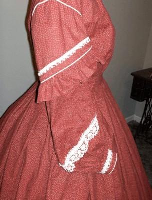 American Civil War Ladies Dresses