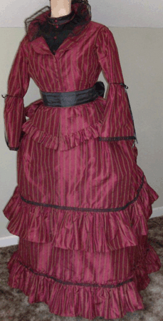 Upholstery Sewing Machine >> Ladies dresses from 1880s
