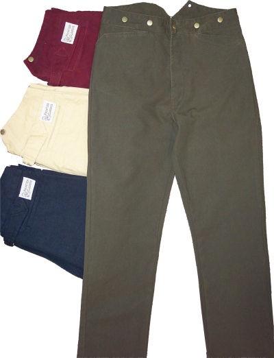 Civil And Civilian Trousers War Pants Victorian Drawers19th rdshtQC
