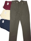 Saddle-Seat Canvas Duck Civilian Trousers / Pants
