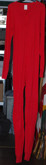 Men's Unionsuit / Long Johns in Red, 19th Century (1800s) Men's Clothing