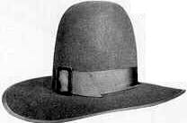 Salem, 18th and early 19th Century (1800s) men's hat