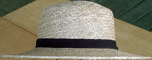 Straw Amish, 19th Century (1800s) Men's Hat