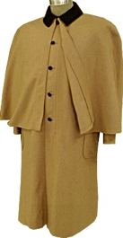 Civilain Greatcoat (Overcoat) in Tan, 19th Century (1800s) Men's Clothing