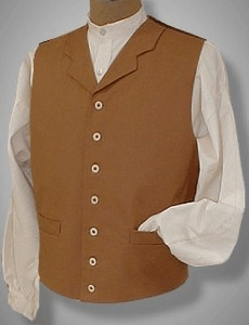 19th Century 1800s Mens Tail Coat Tails
