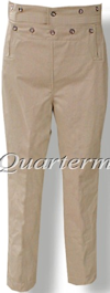 Men's 1830-1840 Broad Fall (Broadfall) Trousers / Pants