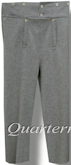Men's 1830-1840 Narrow Fall (Narrowfall) Trousers