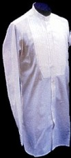 Victorian Button-Up Shirt - Pleated Bib, 19th Century (1800s) Men's Clothing