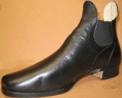 Men's Shoes, Congress in Brown & Black (Type 1), by Robert Land