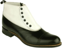 Men's Ankle Boot / Shoe. Madison high zip-up By Stacy Adams
