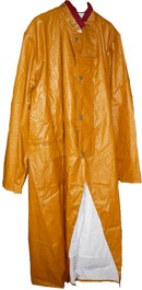 Mustard Yellow Cowboy Duster, Fish Brand Replica