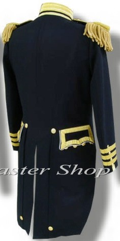 U S  Naval Officers Dress Tail Coat (Union Navy uniforms / USN)