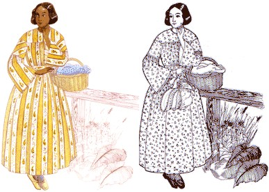 Patterns for Ladies Period Clothing