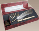 Feather Pen Set Writing Set with Box