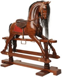 Victorian Rocking Horse, 19th Century (1800s) toys and games.