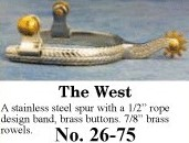 The West Spurs, by Colorado Saddlery