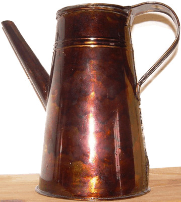 Japanned Coffee Pot 1800s 19th Century