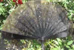 Ladies Hand Fan, Ox Horn