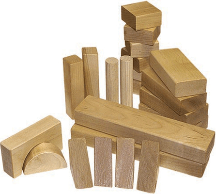 19th century 1800s toys games for Child craft wooden blocks