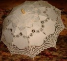 Ladies Battenberg / Battenburg Lace Parasol, Style C