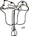 M1863 Jenifer Saddle, Confederate