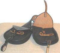 M1859 Civil War Saddle Bags, Enlisted