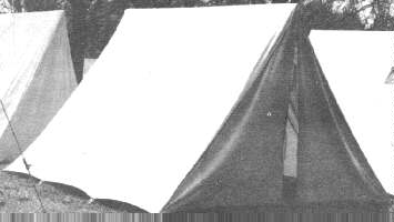 19th Century (1800s) Dog Tent, Military