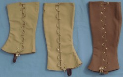 Span-Am (Spanish American) War Leggins, 19th Century (1800s) U.S. Military Uniforms