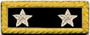 U.S. Shoulder Boards, Major General: 2 Star