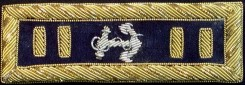 Civil War Naval Officers Shoulder Boards / Bars