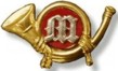 U.S. Enlisted Marine Metal Badge
