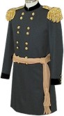 U.S. Bridadier Generals Frock Coat with Epaulets, American Civil War Uniforms