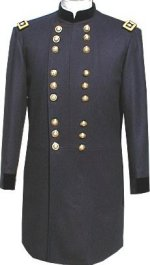 Civil War U.S. Major General Officers Frock Coat
