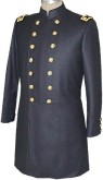 Civil War Senior Officers Frock with Shoulder Boards, American Civil War Military Uniforms