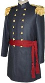 Civil War Senior Officers Frock with Epaulets and Sash, American Civil War Military Uniforms